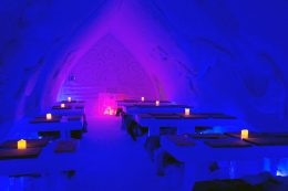 Icerestaurant of Arctic Snowhotel