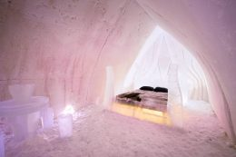 Suite at Arctic Snowhotel in Rovaniemi