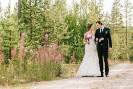 Summer wedding in Arctic Snowhotel in Rovaniemi in Lapland, Finland
